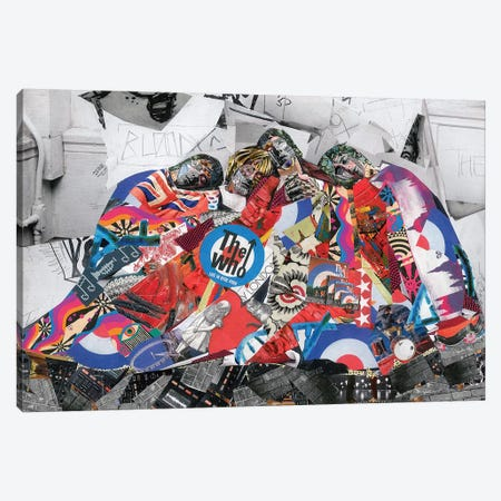 The Who Canvas Print #GLL57} by Glil Canvas Print