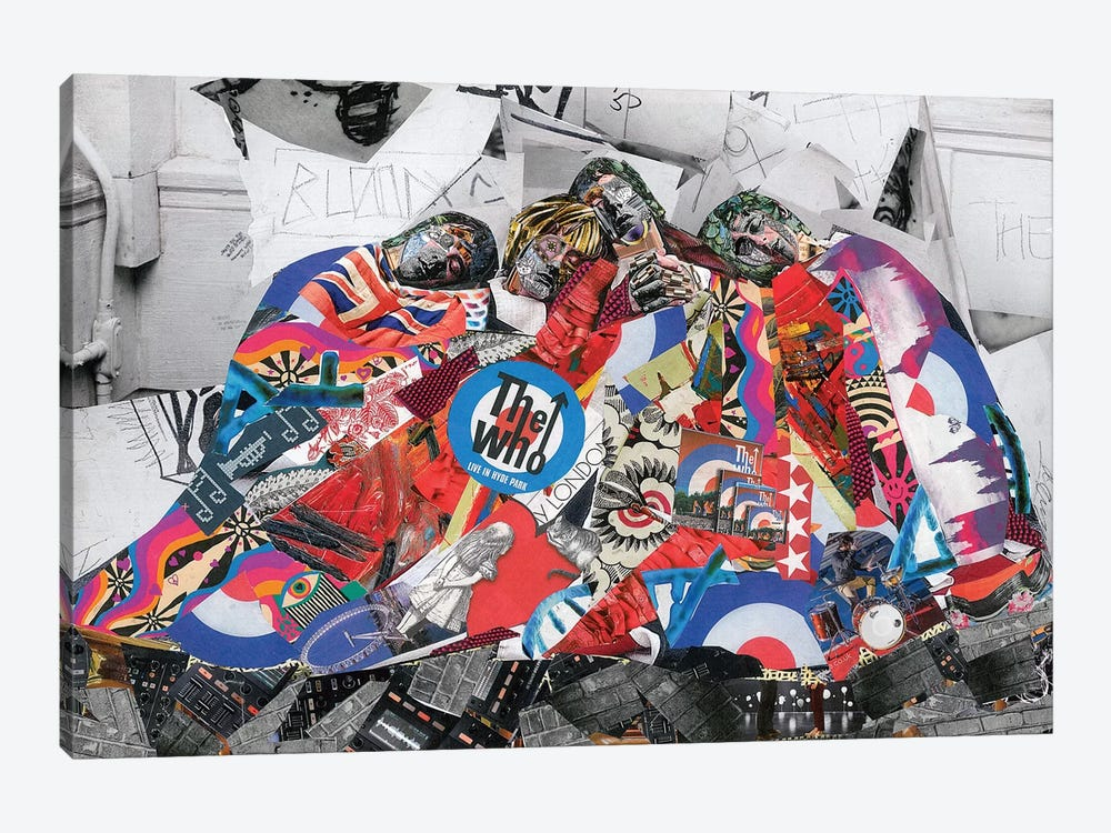 The Who by Glil 1-piece Canvas Wall Art