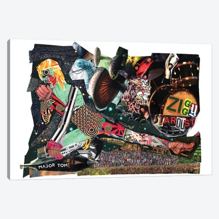 Ziggy 3-Piece Canvas #GLL58} by Glil Canvas Artwork