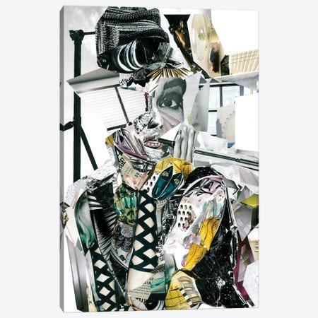Audrey Hepburn Canvas Print #GLL60} by Glil Canvas Print
