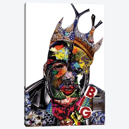 Biggie Canvas Print #GLL61} by Glil Canvas Print