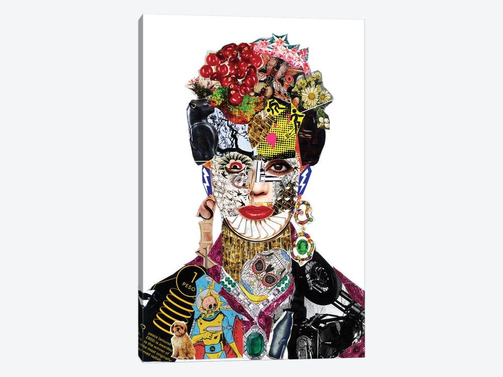 Frida Kahlo by Glil 1-piece Canvas Print