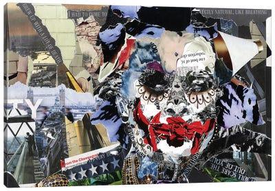 Joker II Canvas Art Print