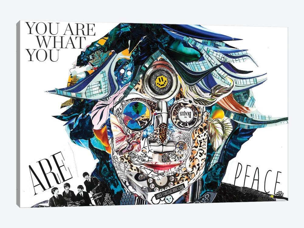 Lennon II by Glil 1-piece Canvas Artwork
