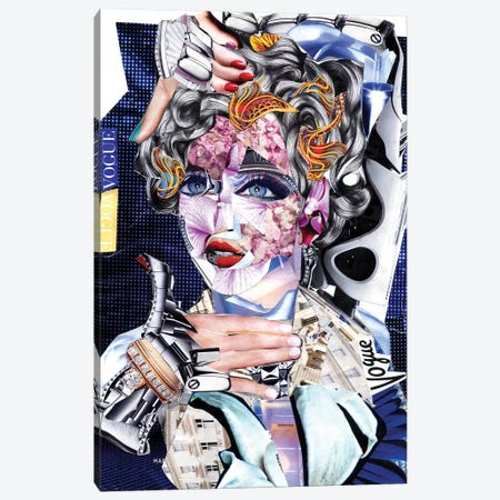 Madonna Canvas Print #GLL67} by Glil Canvas Artwork