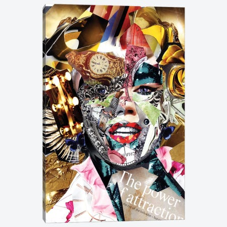 Marilyn Monroe Canvas Print #GLL68} by Glil Art Print