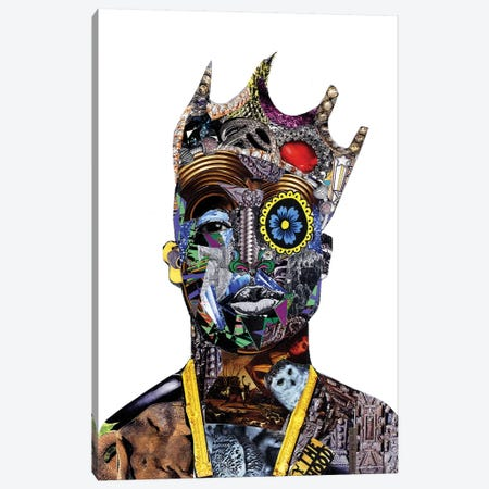 King Canvas Print #GLL71} by Glil Canvas Artwork