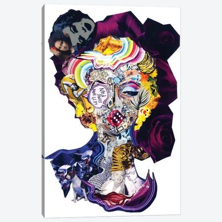 Marilyn III Canvas Print #GLL75} by Glil Art Print