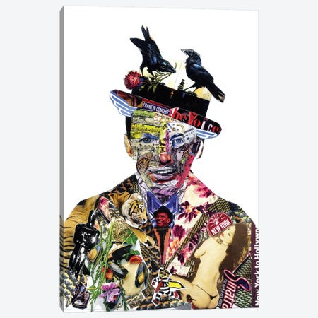 Sinatra III Canvas Print #GLL77} by Glil Canvas Print