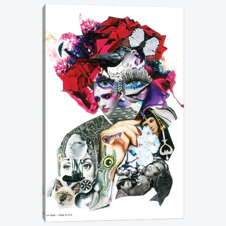 Liz Taylor Canvas Print #GLL79} by Glil Canvas Artwork