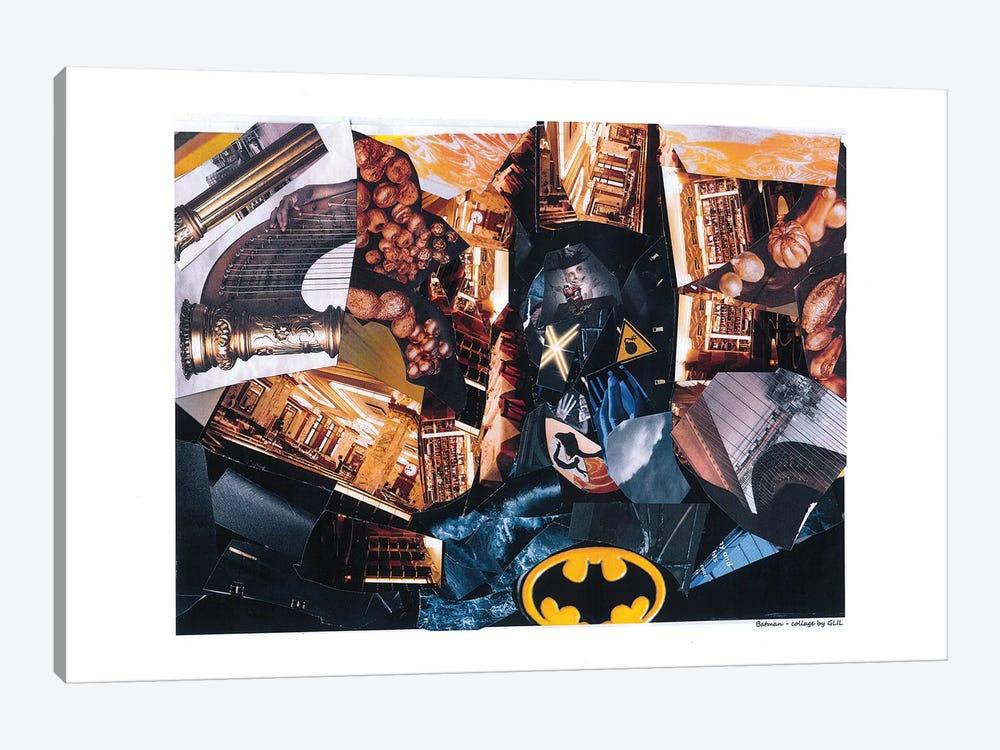 Batman by Glil 1-piece Canvas Artwork