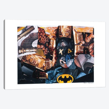 Batman Canvas Print #GLL7} by Glil Art Print