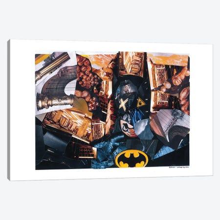 Batman Canvas Print #GLL7} by Glil Art Print