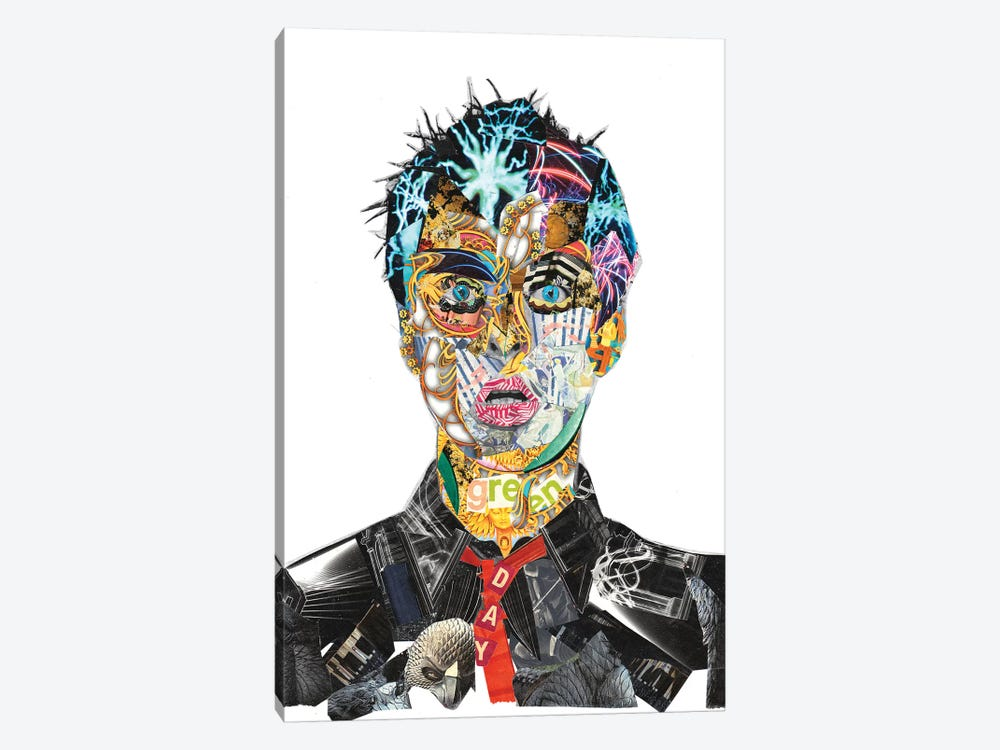 Billie Joe Armstrong by GLIL 1-piece Canvas Art Print