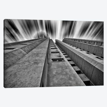 Long Exposure Bulding #2 - Sao Paulo, Brazil Canvas Print #GLM100} by Glauco Meneghelli Canvas Wall Art