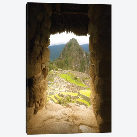 Machu Picchu - Peru Canvas Print #GLM104} by Glauco Meneghelli Canvas Art Print