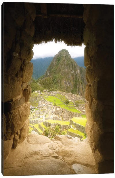 Machu Picchu - Peru Canvas Art Print