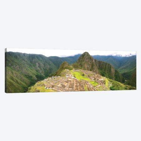 Machu Picchu Pano - Peru Canvas Print #GLM105} by Glauco Meneghelli Art Print