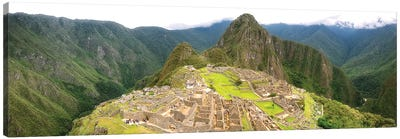 Machu Picchu Pano - Peru Canvas Art Print