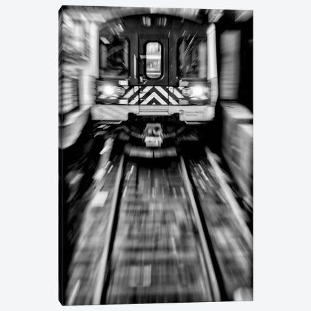 Metro - New York, Brazil Canvas Print #GLM107} by Glauco Meneghelli Canvas Print