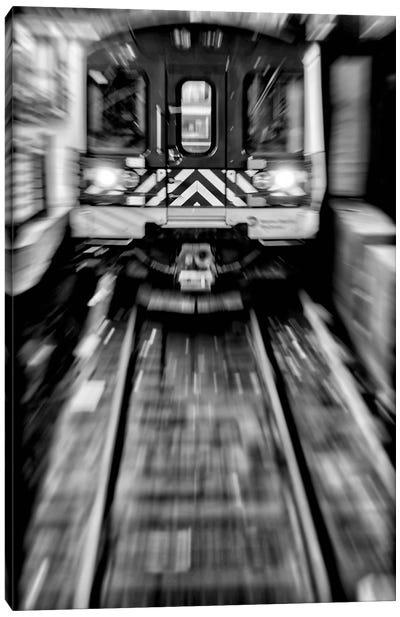 Metro - New York, Brazil Canvas Art Print
