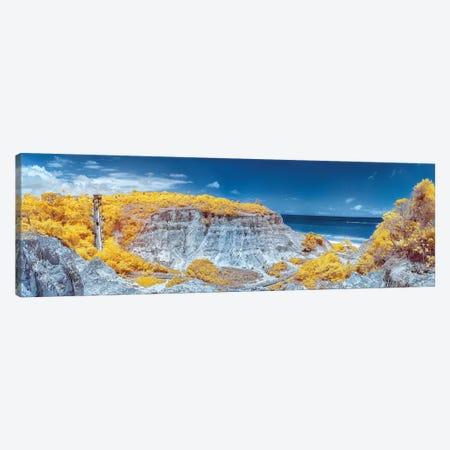 Panorama Beach View - Bahia, Brazil Canvas Print #GLM121} by Glauco Meneghelli Canvas Wall Art