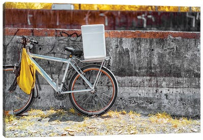 Bike - Sao Paulo, Brazil Canvas Art Print