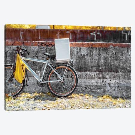 Bike - Sao Paulo, Brazil Canvas Print #GLM12} by Glauco Meneghelli Art Print