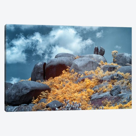 Rock Mountain - Sao Paulo, Brazil Canvas Print #GLM135} by Glauco Meneghelli Canvas Art