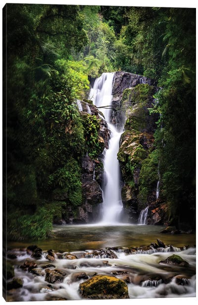 Waterfall I - Sao Paulo, Brazil Canvas Art Print