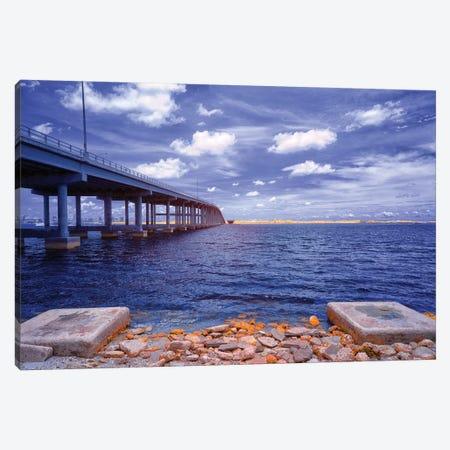 Blue View - Miami, Florida Canvas Print #GLM17} by Glauco Meneghelli Canvas Wall Art