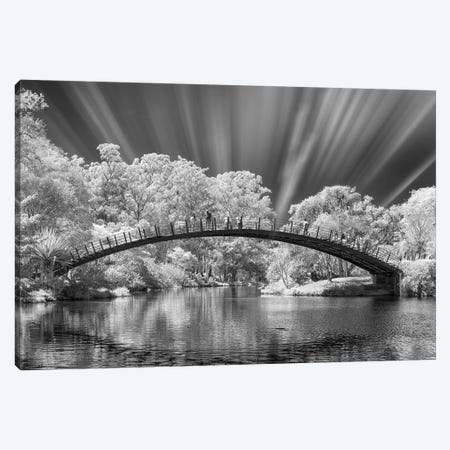 Bridge Black & White  - Sao Paulo, Brazil Canvas Print #GLM19} by Glauco Meneghelli Canvas Print