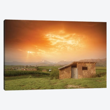 Abandoned House - Peru Canvas Print #GLM1} by Glauco Meneghelli Canvas Art Print