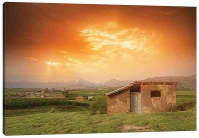 Abandoned House - Peru Canvas Art Print