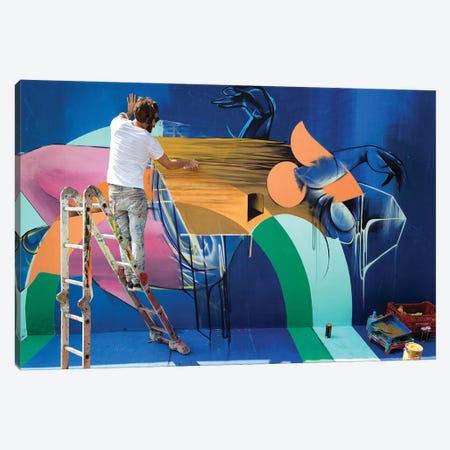 Street Photography XLII Canvas Print #GLM219} by Glauco Meneghelli Canvas Wall Art
