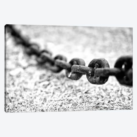 Chain - Black & White 3-Piece Canvas #GLM21} by Glauco Meneghelli Canvas Art