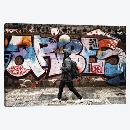 Street Photography XLIV Canvas Print #GLM221} by Glauco Meneghelli Art Print