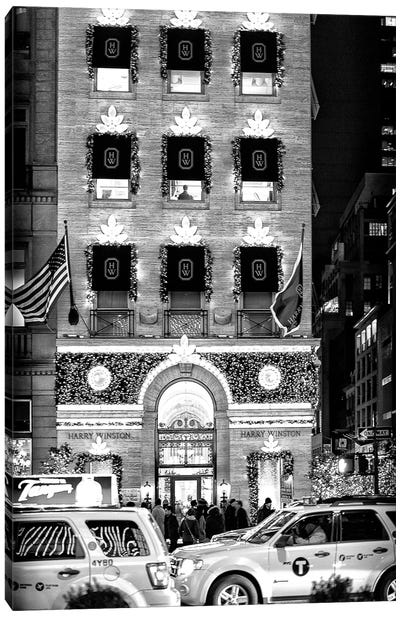 Christmas - New York Canvas Art Print