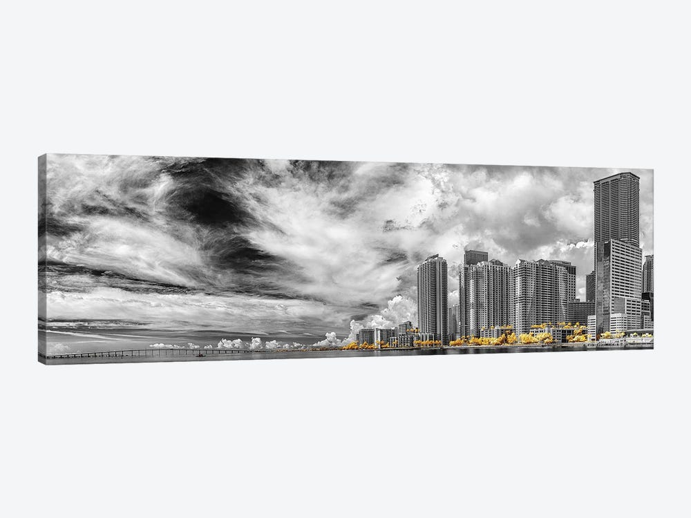 Miami Infrared V by Glauco Meneghelli 1-piece Canvas Wall Art