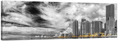 Miami Infrared V Canvas Art Print