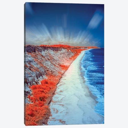 Costal Vertical Beach - Bahia, Brazil Canvas Print #GLM29} by Glauco Meneghelli Canvas Art