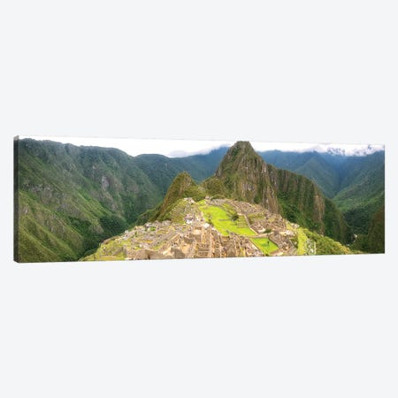 Machu Picchu Canvas Print #GLM356} by Glauco Meneghelli Canvas Wall Art