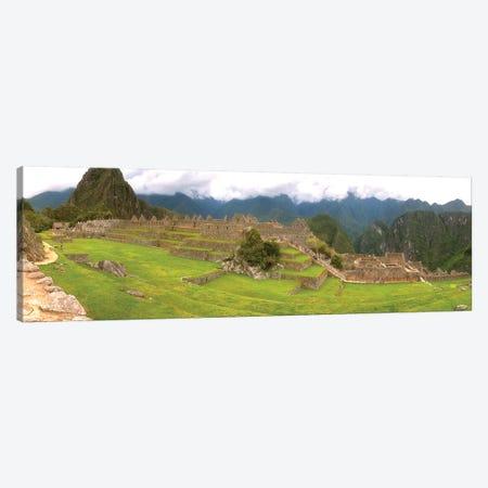 Machu Picchu Pano View Canvas Print #GLM359} by Glauco Meneghelli Canvas Print