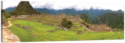 Machu Picchu Pano View Canvas Art Print