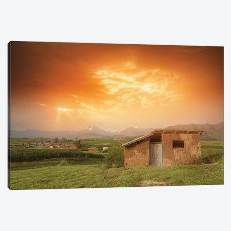 Orange Sky Canvas Print #GLM360} by Glauco Meneghelli Canvas Artwork