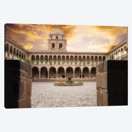 Ancient Building Canvas Print #GLM361} by Glauco Meneghelli Canvas Art