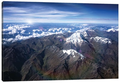 Andes Mountains Canvas Art Print