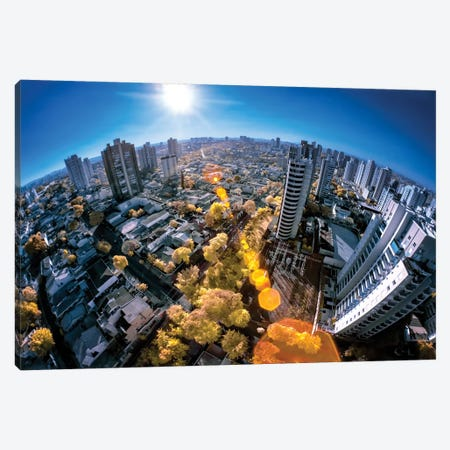 Fisheye - Sao Paulo, Brazil Canvas Print #GLM41} by Glauco Meneghelli Canvas Art