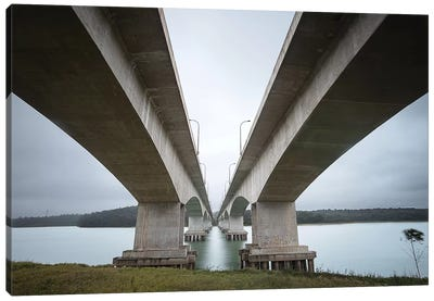 Over The Bridge Canvas Art Print