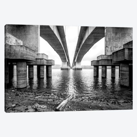 Over The Bridge2 Canvas Print #GLM458} by Glauco Meneghelli Canvas Art